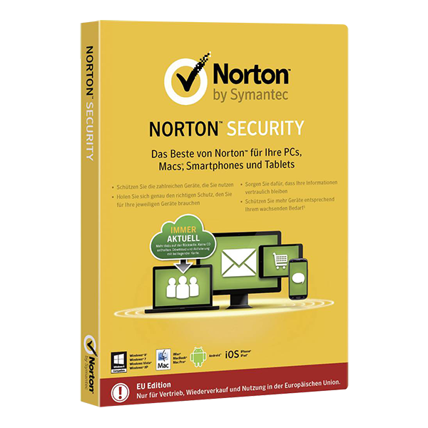 Symantec Norton Security Standard (1 Device - 1 Year)