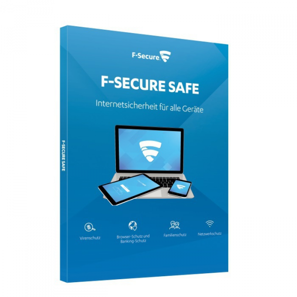 F-Secure Safe (1 Device -1 Year) Multi Device