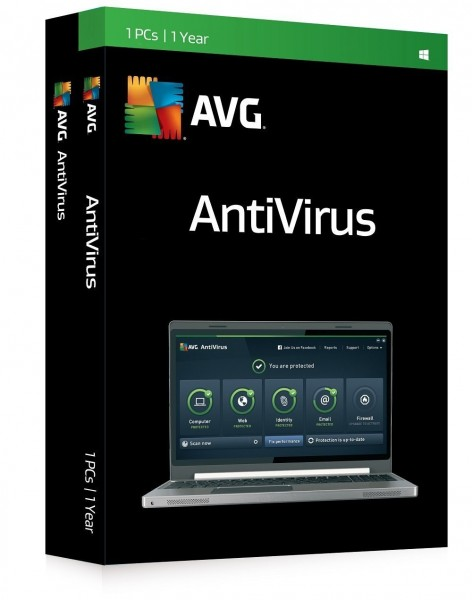 AVG Antivirus (1 PC - 1 Year)