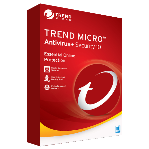 Trend Micro Antivirus+ Security (1 PC / 1 Year)