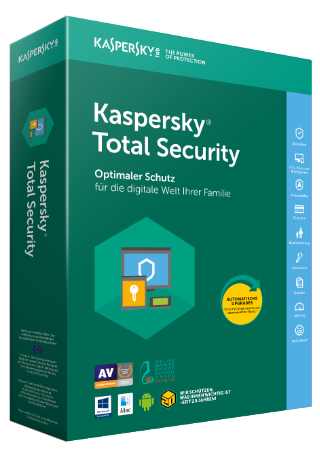 Kaspersky Total Security (1 Device - 1 Year)