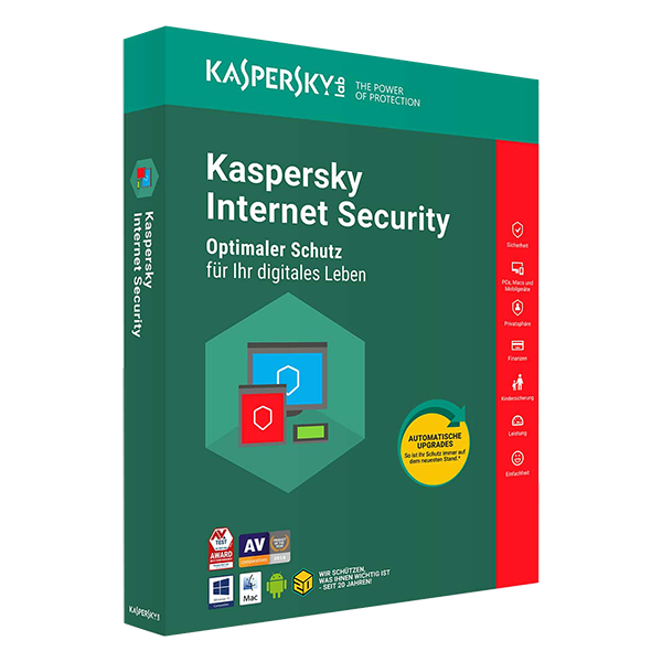 Kaspersky Internet Security (1 Device - 1 Year)
