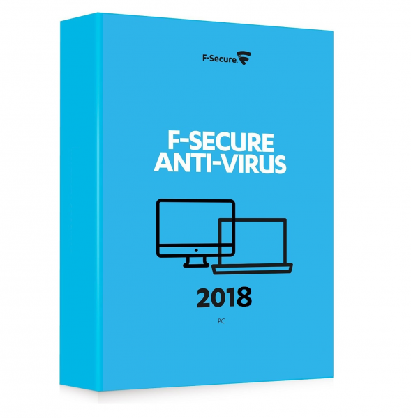 F-Secure Antivirus 2018 (1 PC / 1 Year)