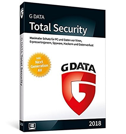 G DATA Total Security (1 PC - 1 Year)