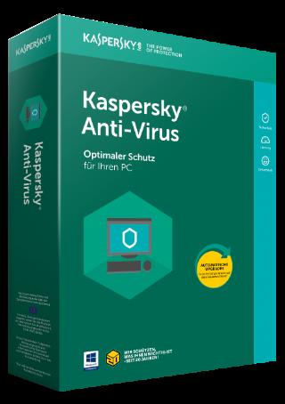 Kaspersky Antivirus (1 PC - 1 Year)