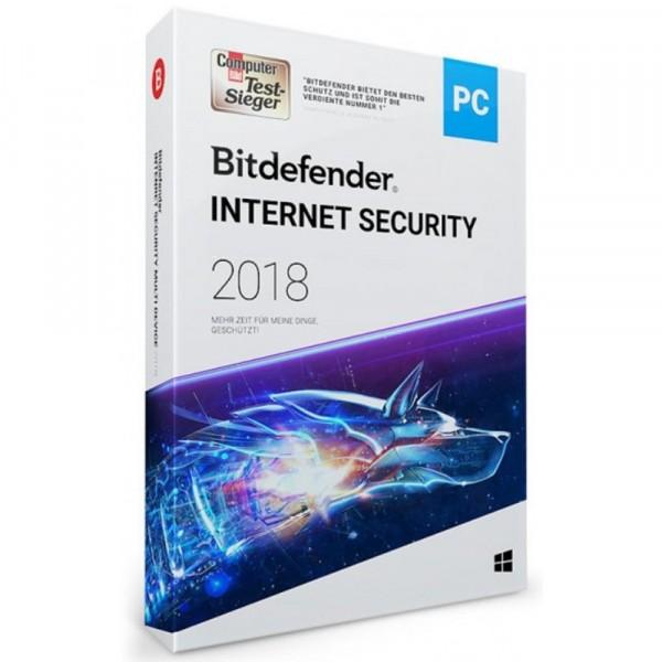 Bitdefender 2018 Internet Security (1 PC -1 Year) OEM